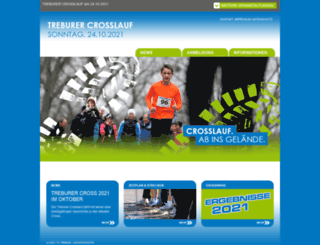 treburer-crosslauf.de screenshot
