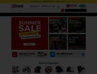 tredz.co.uk screenshot