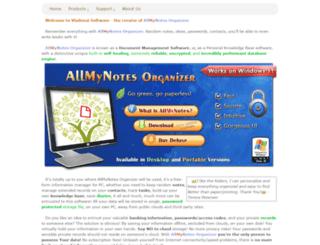 treedbnotes-alternative-app.allmynotes.org screenshot