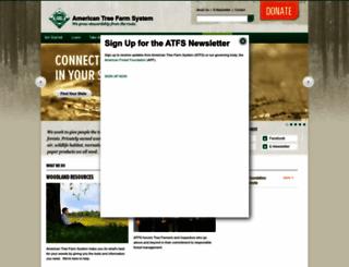 treefarmsystem.org screenshot
