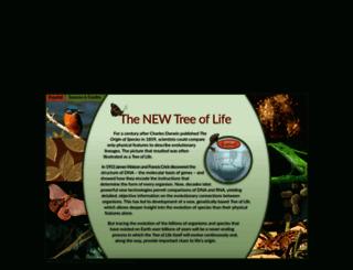 treeoflife.nmnaturalhistory.org screenshot