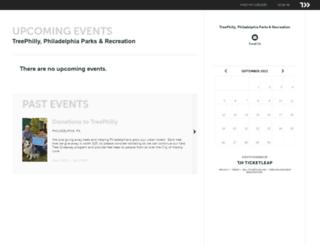 treephilly.ticketleap.com screenshot