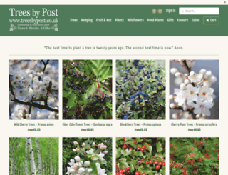 treesbypost.com screenshot