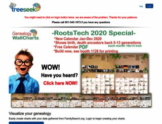 treeseek.com screenshot