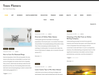 treesflowers.com screenshot
