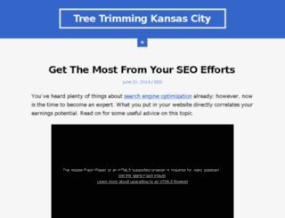 treetrimmingkansascity.org screenshot