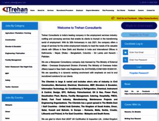 trehanconsultants.com screenshot