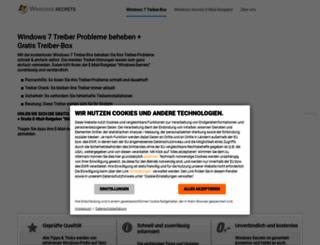 treiber1.windows-secrets.de screenshot