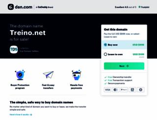 treino.net screenshot