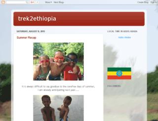 trek2ethiopia.blogspot.com screenshot