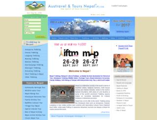 trekandtournepal.com screenshot