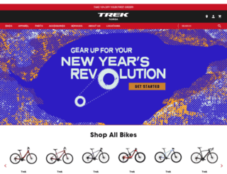 trekbikesflorida.com screenshot