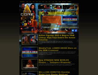 trekcore.com screenshot