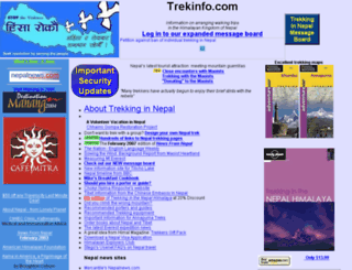 trekinfo.com screenshot