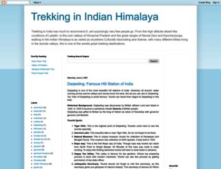 trekkinginindia.blogspot.com screenshot