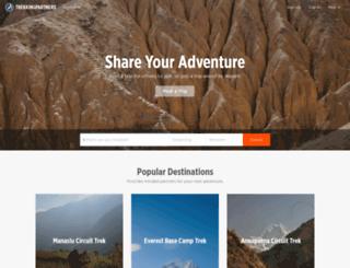 trekkingpartners.com screenshot