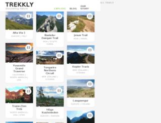 trekkly.com screenshot