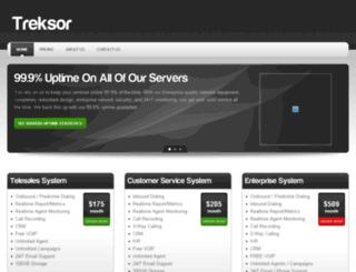 treksor.com screenshot