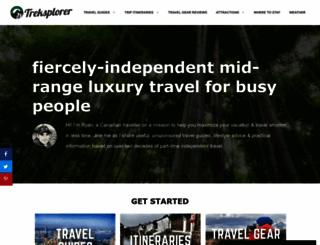 treksplorer.com screenshot