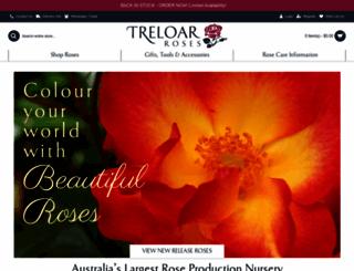 treloarroses.com.au screenshot
