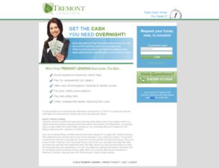 tremontlending.com screenshot