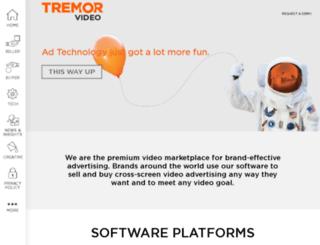 tremormedia.com screenshot