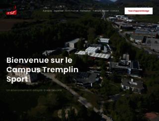 tremplinsport.fr screenshot