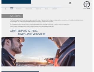 trenchgroup.com screenshot