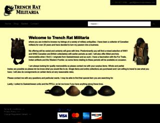 trenchratmilitaria.com screenshot