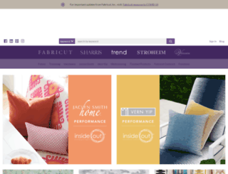 trend-fabrics.com screenshot