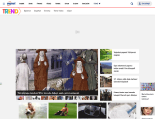 trend.mynet.com screenshot