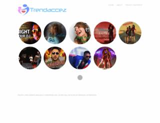trendaccez.wordpress.com screenshot