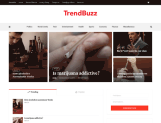 trendbuzz.com screenshot