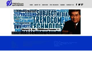 trendcom-intl.com screenshot