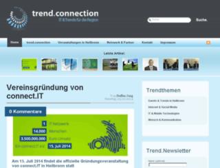 trendconnection.org screenshot
