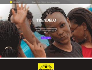 trendelo.events screenshot