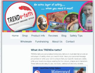 trendetatts.com.au screenshot