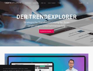 trendexplorer.de screenshot