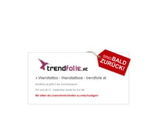 trendfolie.at screenshot