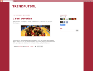 trendfutbol.blogspot.com screenshot