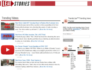 trending-videos.leadstories.com screenshot
