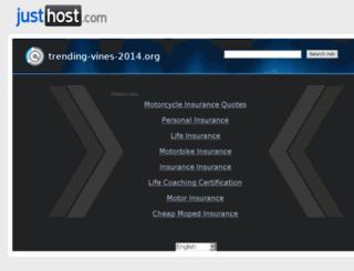 trending-vines-2014.org screenshot