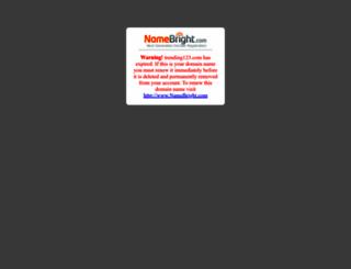 trending123.com screenshot