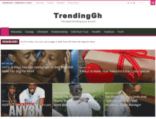 trendinggh.com screenshot