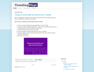 trendingplayr.blogspot.com screenshot