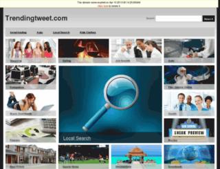 trendingtweet.com screenshot