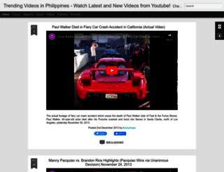 trendingvideosphilippines.blogspot.com screenshot