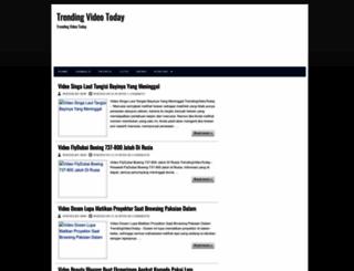trendingvideotoday.blogspot.com screenshot