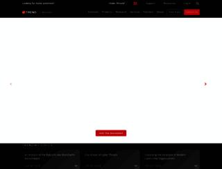 trendmicroaffinity.com screenshot