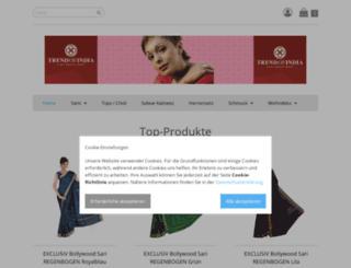 trendofindia.de screenshot